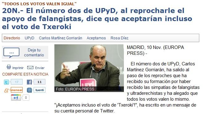 UPyD: 7 razones para desconfiar (1/3)