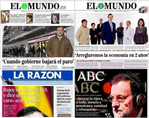 Razones para desconfiar de Rajoy (o no, allá usted) (2/4)