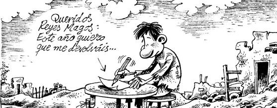 Carta de España a los ReyesMagos